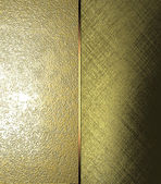 Two different textures texture gold. Design template. Design site — Stock Photo
