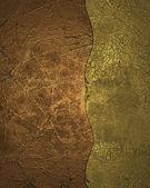 Copper and gold texture. Design template. Design site — Stock Photo