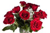 Vase of Roses — Stock Photo
