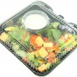 Pre-packaged Salad — Stockfoto