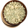 Stock Photo: Crumbled Cheese