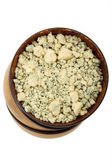 Crumbled Cheese — Stock Photo