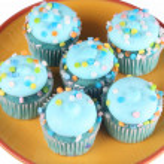 Blue Cupcakes — Stock Photo #41638501