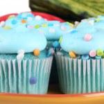 Blue Cupcakes — Stock Photo #41638503