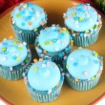 Blue Cupcakes — Stock Photo #41638505