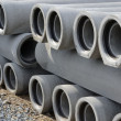 Stock Photo: Concrete pipes