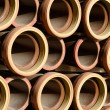 Stock Photo: Stoneware pipes