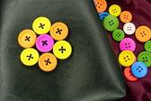 Colorful buttons — Foto de Stock