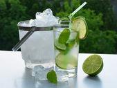Ice-cold mohito — Stock Photo