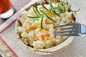 Rice - pilaf — Stock Photo