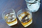 Scotch on the rocks — Stock Photo