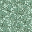 Vector octopus seamless pattern - Stock Vector