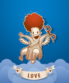 Vector Angel Cupid — Vetorial Stock