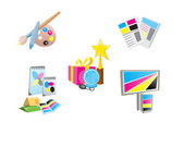 Promotional Items — Stock Vector