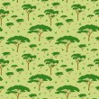 Vetorial Stock : Savanntree pattern