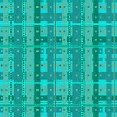 Abstract aquamarine cells — Stock Vector