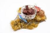 Nya årets choklad — Stockfoto