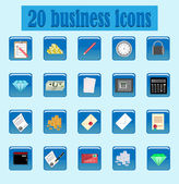 Icon business — Stock Vector