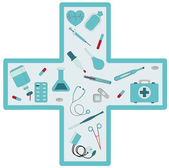 Medical set — Stockvector
