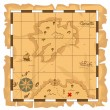 Treasure map — Stock Vector #28037609