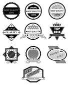 Badges vector set — Stockvector