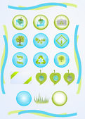 Green tech — Stock Vector