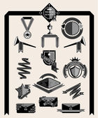 Vintage labels vector — Vector de stock