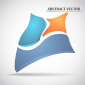 Abstract squares vector — Stock Vector