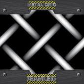 Metal mesh texture seamless pattern vector — Stock Vector