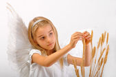Angel of Abundance — Stock Photo
