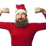 Santa Claus - strong (series) — Stock Photo #15342327