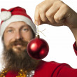 Santa Claus - Christmas Ball (series) — Stock Photo
