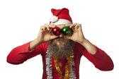 Santa Claus - Kerstmis bal (serie) — Stockfoto