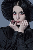 The different female retro style - (Series) — Stock Photo