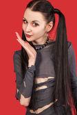 Gothic girl - Anime (Series) — Stock Photo