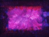 Purple grunge frame — Stock Photo