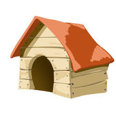 Dogs house — Stockfoto
