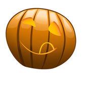 Smiling pumpkin — Stock Photo