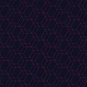 Röd hexagon bakgrund — Stockvektor