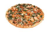 Thin crust pizza — Stock Photo