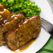 Royalty-Free Stock Photo: Meatloaf meal