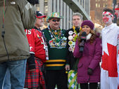 The 100th Grey Cup festival — Stock Photo