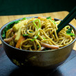 Stir-fried Noodles — Stock Photo