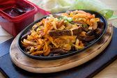 Korean steak — Stock Photo