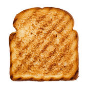 Slice of grilled bread — Stock Photo