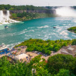 Stock Photo: Panoramof NiagarFalls