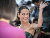 Alicia Vikander — Stock Photo