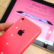 Stock Photo: IPhone 5c