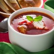 Borscht soup — Stock Photo