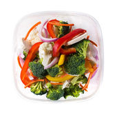 Bowl of vegetable salad — Foto Stock